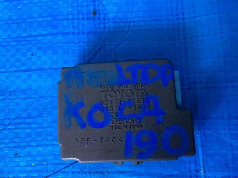 Реле Toyota Caldina AT211 3SFE (б/у)