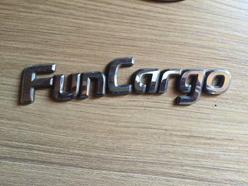 Шильдики Toyota Funcargo NCP20 задние (б/у)