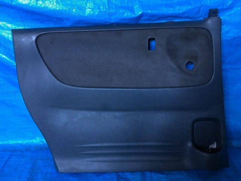 Обшивка дверей Mazda Mpv LW3W L3 задняя левая (б/у)