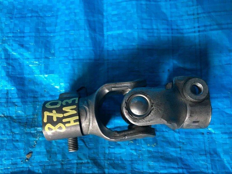 Рулевой карданчик Mazda Mpv LW L3 нижний (б/у)