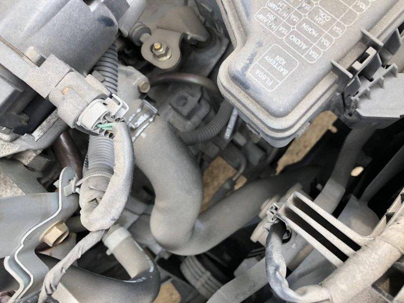 Патрубок радиатора Nissan Primera HP12 SR20DE нижний (б/у)