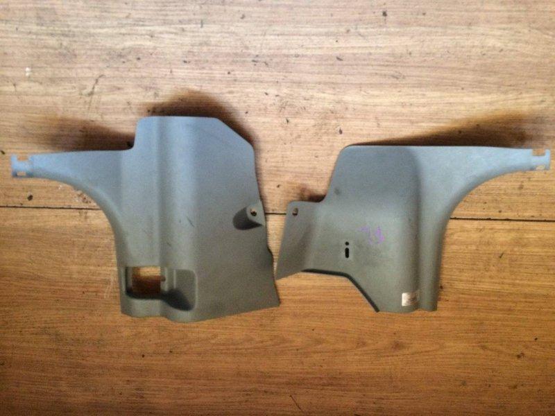 Обшивка салона Nissan X-Trail NT30 передняя нижняя (б/у)