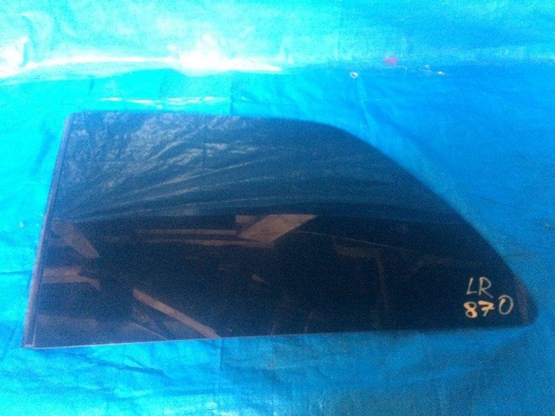 Стекло собачника Mazda Mpv LW L3 левое (б/у)