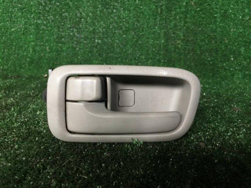 Ручка двери внутренняя Toyota Corolla Spacio AE111 4AFE левая (б/у)