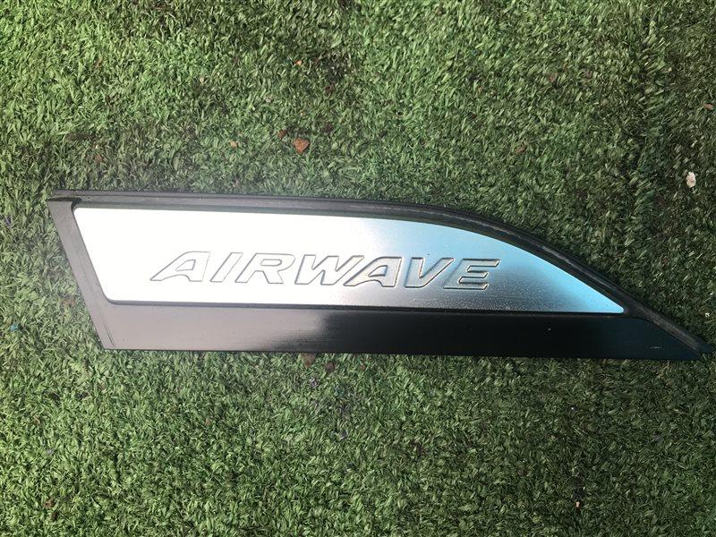 Эмблема Honda Airwave GJ1 L15A 2006 левая (б/у)