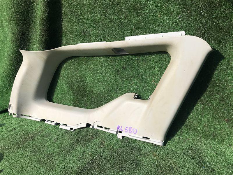 Обшивка багажника Honda Airwave GJ1 L15A 2006 задняя левая верхняя (б/у)