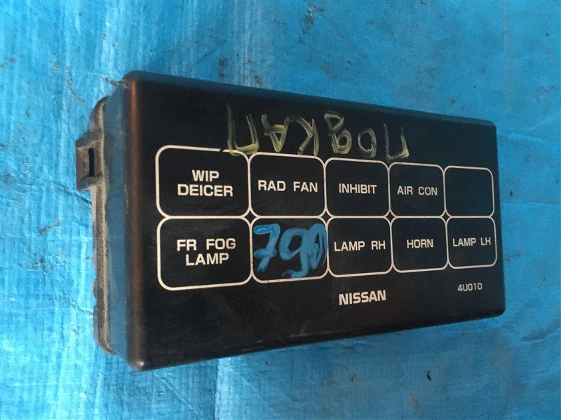 Крышка блока предохранителей Nissan Tino HV10 V10 V10M SR20DE 1999 правая (б/у)