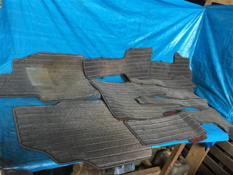 Коврики комплект Nissan Presage NU30 HU30 TNU30 TU30 U30 VNU30 VU30 KA24DE 2000 (б/у)