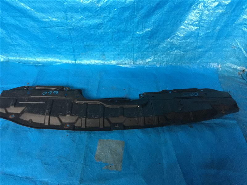 Защита радиатора Nissan Presage NU30 U30 VNU30 VU30 KA24DE 2000 верхняя (б/у)