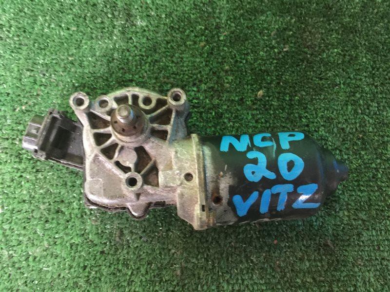 Мотор дворников Toyota Funcargo NCP20 NCP21 NCP25 1NZFE 2NZFE передний (б/у)