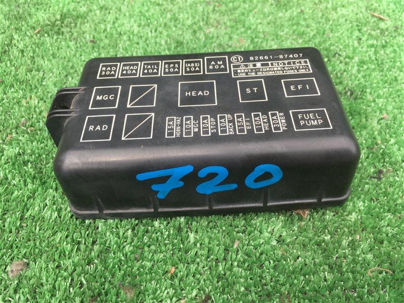 Крышка блока предохранителей Daihatsu Terios J102E J122E J102G J122G K3VE 2005 (б/у)