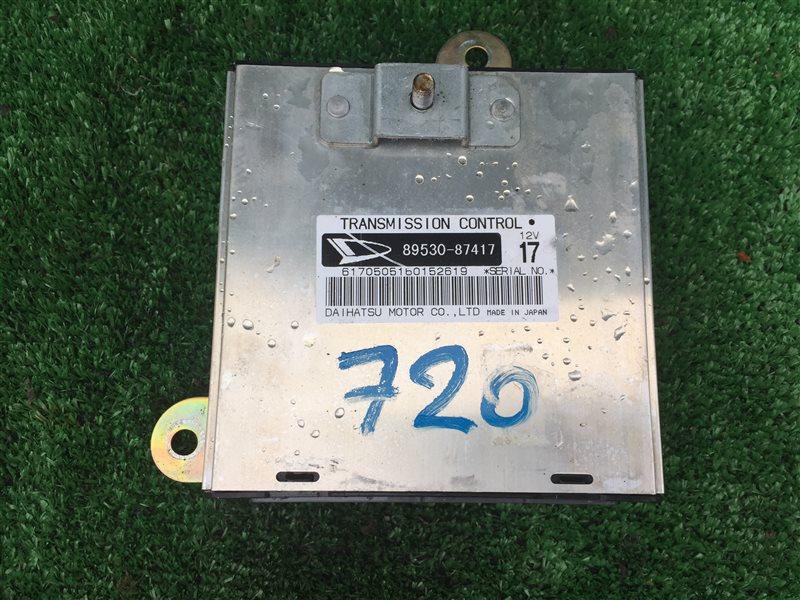 Блок управления акпп Daihatsu Terios J102E J102G K3VE 2005 (б/у)