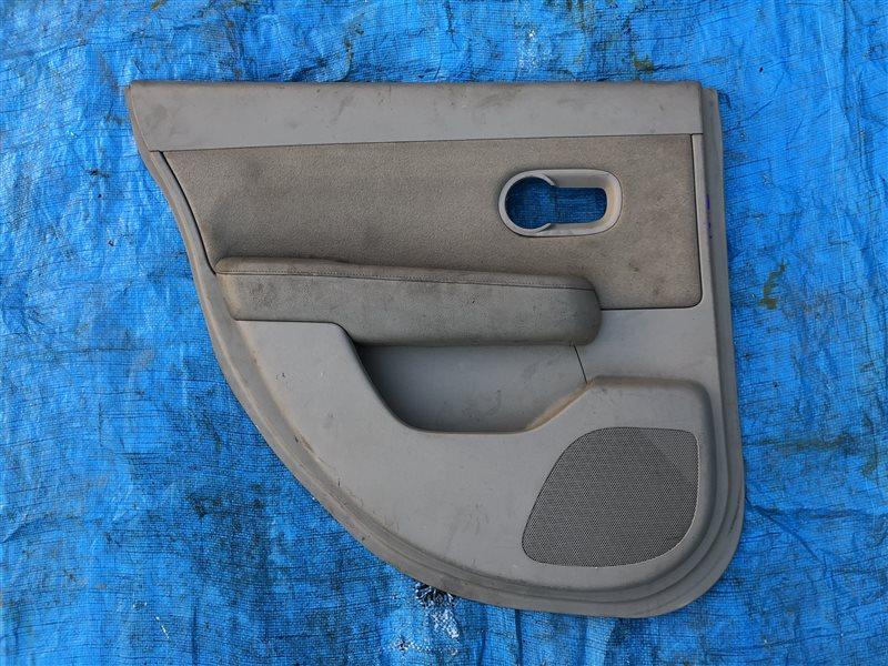 Обшивка двери Nissan Tiida C11 C11S C11X JC11 NC11 SC11S задняя левая (б/у)