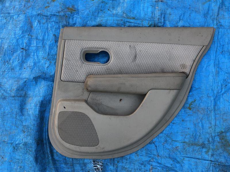 Обшивка двери Nissan Tiida C11 C11S C11X JC11 NC11 SC11S задняя правая (б/у)