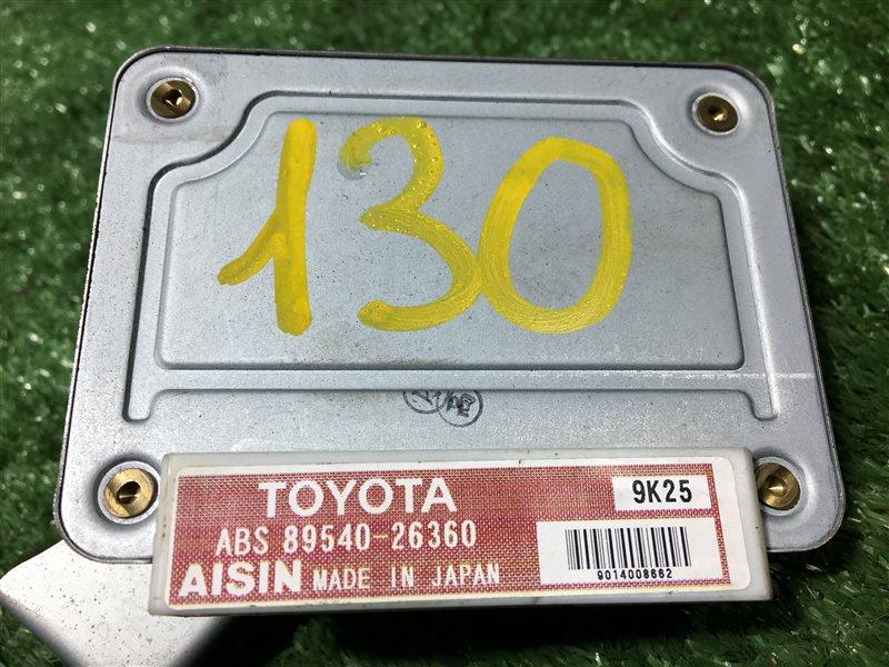 Блок управления abs Toyota Grand Hiace KCH16 VCH16 KCH16W VCH16W KCH46 KCH46W RCH47 RCH47W 1KZTE (б/у)