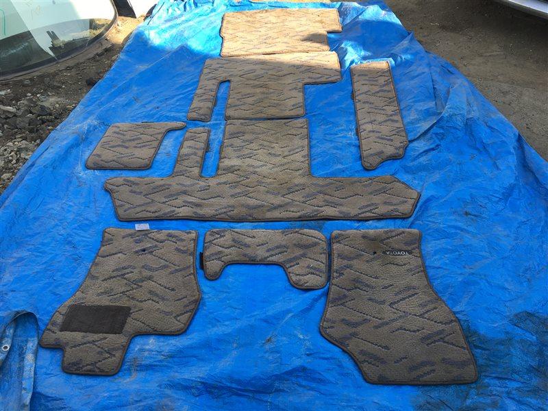 Коврики комплект Toyota Grand Hiace KCH16 VCH16 KCH10 KCH10W KCH16W RCH11 RCH11W VCH10 VCH10W VCH16W 1KZTE (б/у)