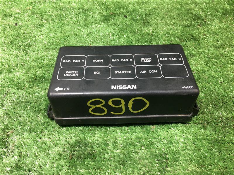 Крышка блока предохранителей Nissan Serena C24 PC24 PNC24 RC24 TC24 TNC24 SR20DE (б/у)