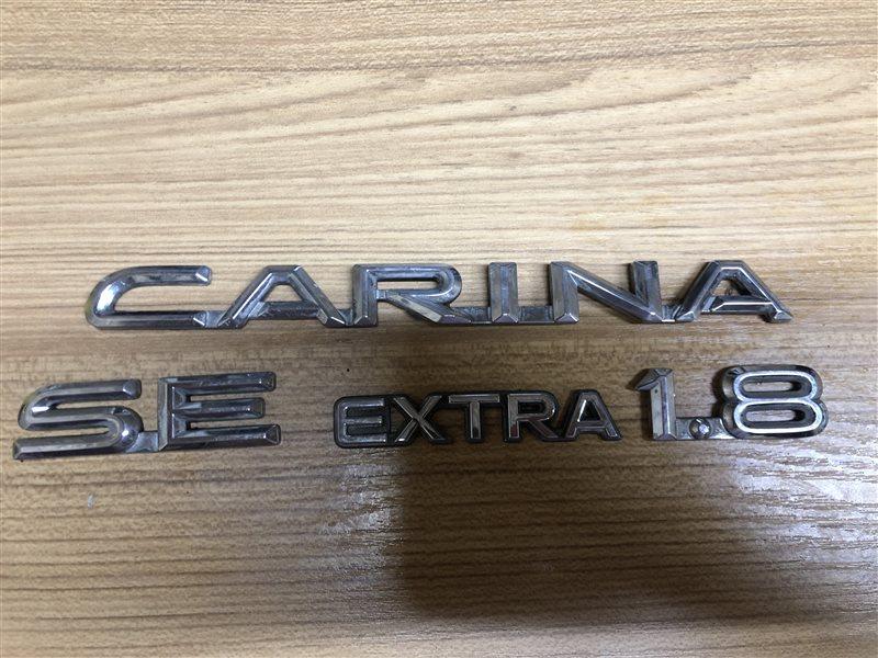 Шильдики Toyota Carina AT191 AT190 AT192 CT190 CT195 ST190 ST195 7AFE (б/у)