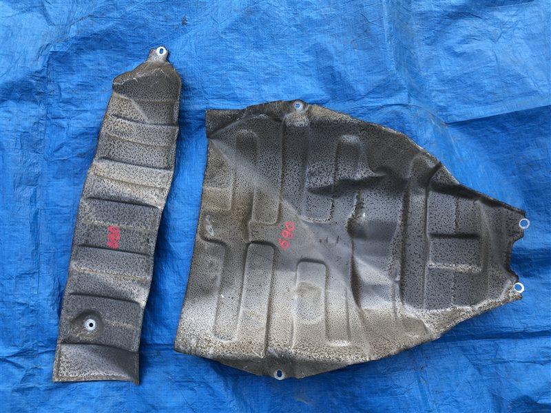 Тепловая защита глушителя Toyota Carina AT191 AT190 AT192 ST190 ET196 ET196V ST190 ST190G ST191 ST191G AT190 ST190 (б/у)