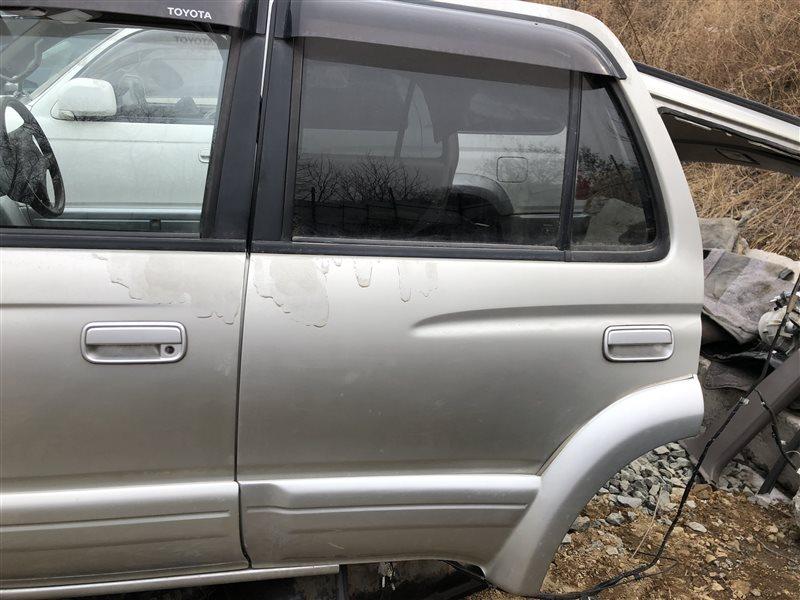 Дверь Toyota 4Runner KZN185 RZN180 RZN185 VZN180 VZN185 KDN185 KDN185W KZN185G KZN185W RZN185W VZN185W 1KZTE задняя левая (б/у)
