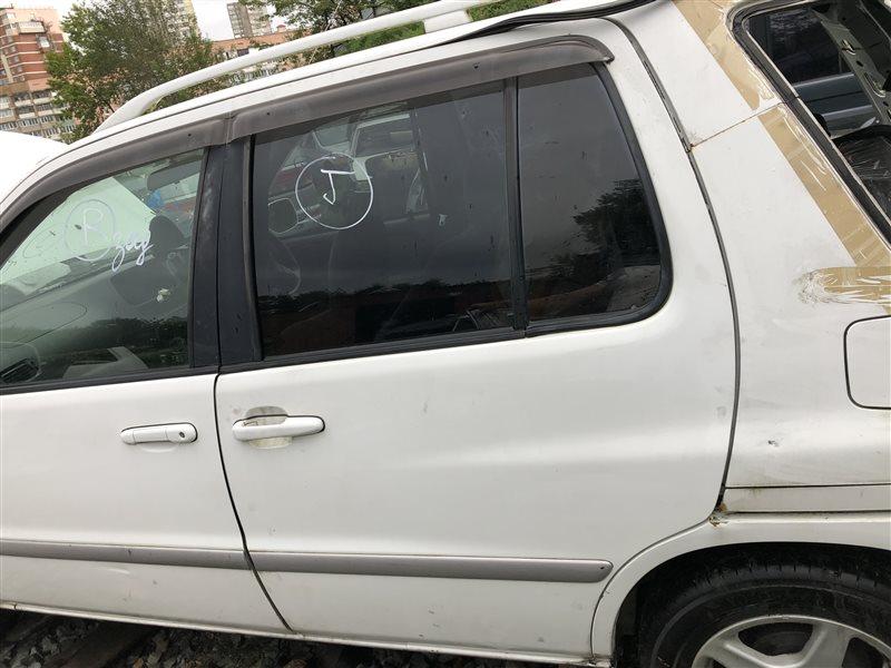 Дверь боковая (раздвижная) Toyota Raum EXZ10 5EFE задняя левая (б/у)