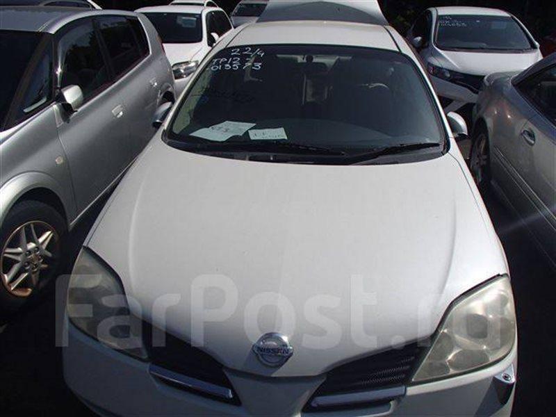 Лобовое стекло Nissan Primera HP12 QG18DE (б/у)