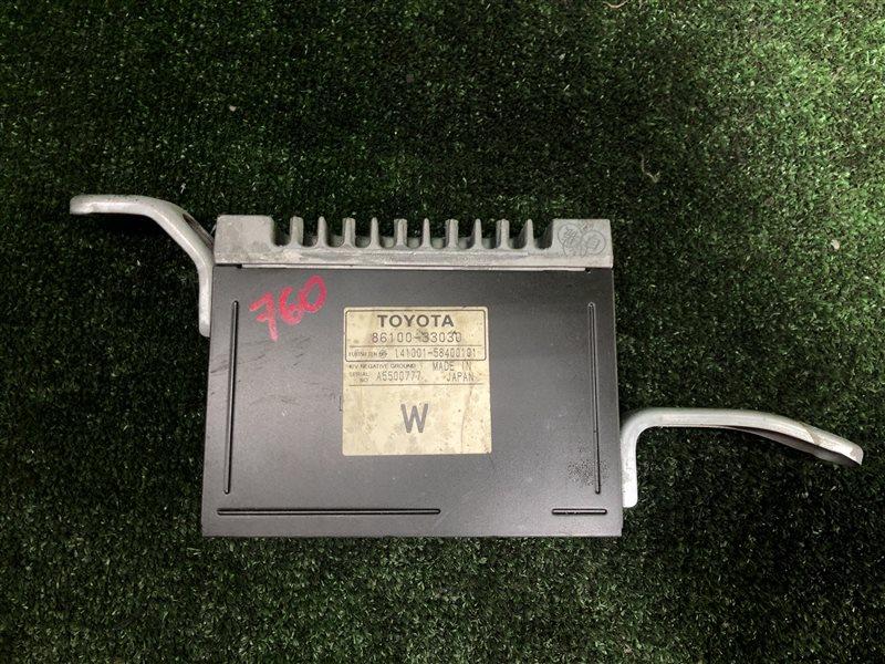 Усилитель магнитофона Toyota Mark Ii Wagon Qualis MCV21 MCV21W 2MZFE (б/у)