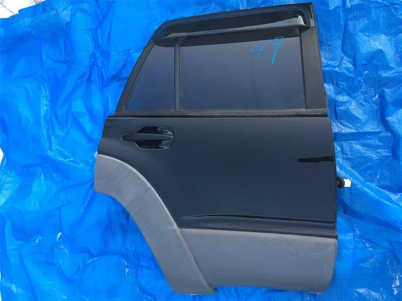 Дверь Toyota Hilux Surf GRN215 1GRFE задняя правая (б/у)