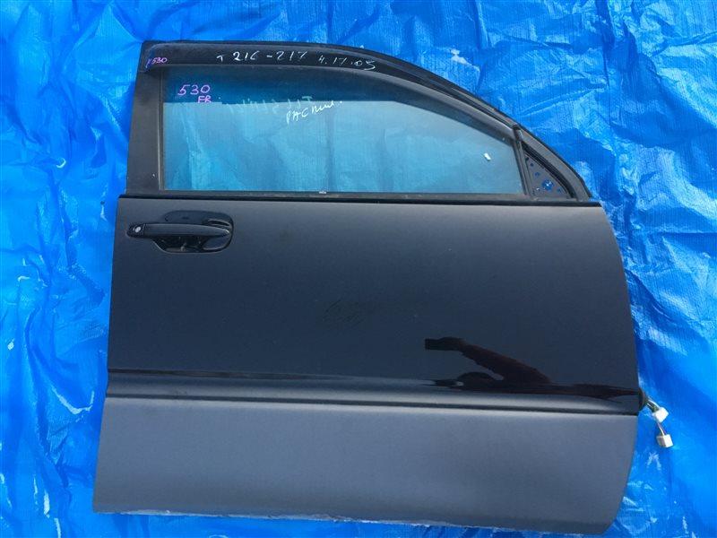 Дверь Toyota Hilux Surf GRN215 1GRFE передняя правая (б/у)