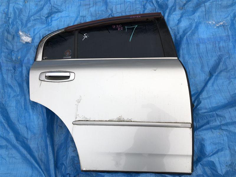 Дверь Nissan Skyline V35 HV35 NV35 PV35 VQ25DD задняя правая (б/у)