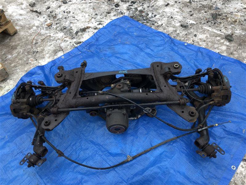 Балка подвески Toyota Vista Ardeo SV55 AZV55 AZV55G SV55G AZV55 SV55 ZZT245 ZCT15 3SFE задняя (б/у)