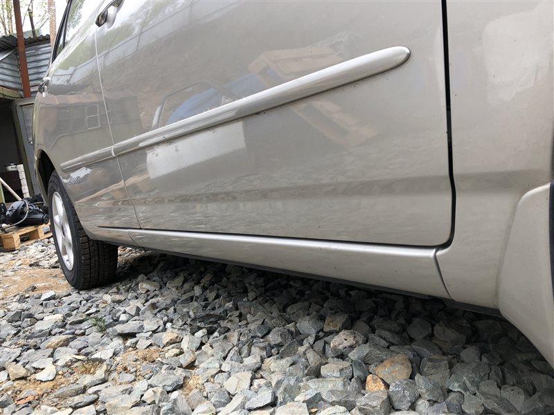 Порог кузова Toyota Corolla CDE120 CE120 CE121 NDE120 NZE120 NZE121 NZE124 ZRE120 ZZE120 ZZE120L ZZE121 ZZE121L ZZE122 ZZE123 (б/у)