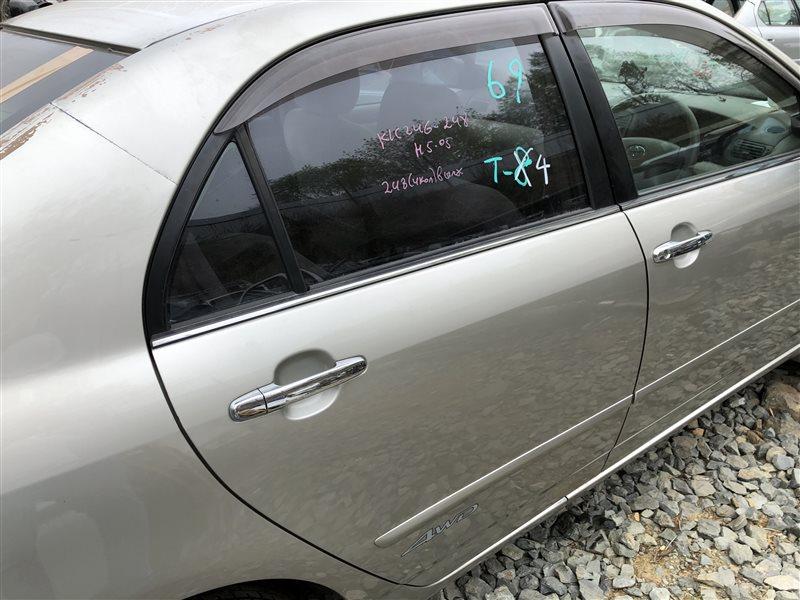 Дверь Toyota Corolla CDE120 CE120 CE121 NDE120 NZE120 NZE121 NZE124 ZRE120 ZZE120 ZZE120L ZZE121 ZZE121L ZZE122 ZZE123 ZZE123L ZZE124 (б/у)