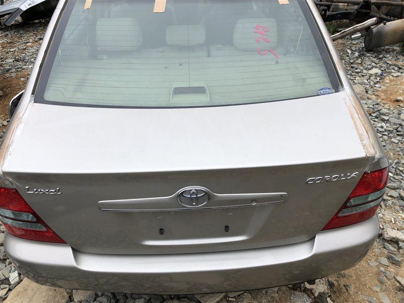 Крышка багажника Toyota Corolla CDE120 CE120 CE121 NDE120 NZE120 NZE121 NZE124 ZRE120 ZZE120 ZZE120L ZZE121 ZZE121L ZZE122 (б/у)