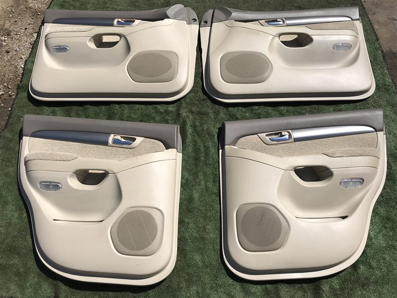 Обшивка дверей Toyota Land Cruiser Prado GRJ120 5VZFE (б/у)