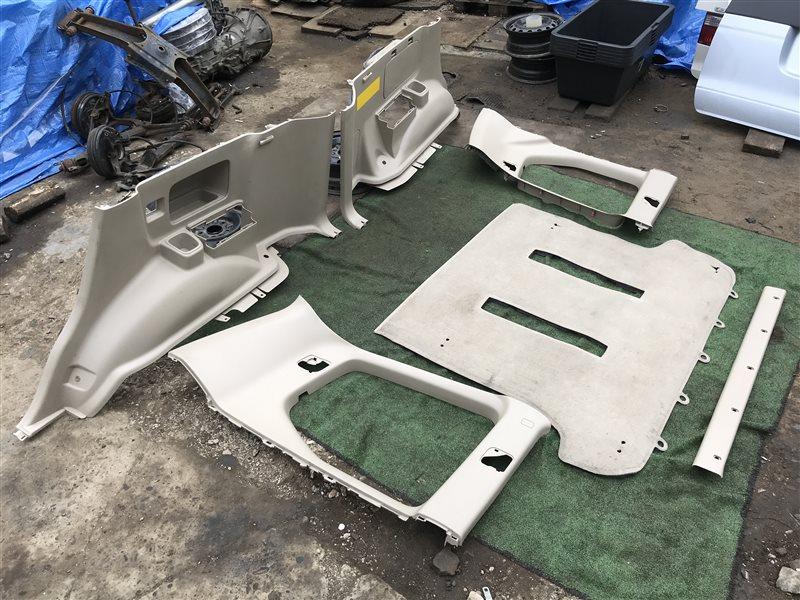 Обшивка багажника Toyota Land Cruiser Prado GRJ120 5VZFE (б/у)