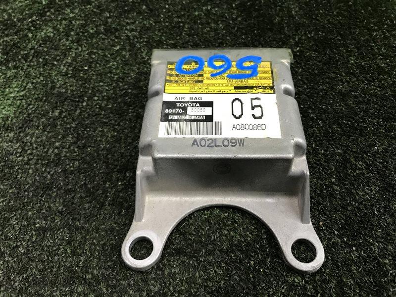 Блок управления airbag Toyota Land Cruiser Prado GRJ120 5VZFE (б/у)