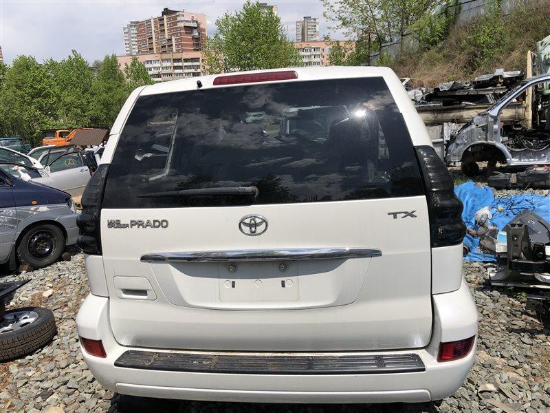 Дверь багажника Toyota Land Cruiser Prado VZJ120 GRJ120 GRJ120W GRJ121 GRJ121W KDJ120 KDJ120W KDJ121 KDJ121W KDJ125 KDJ125W (б/у)