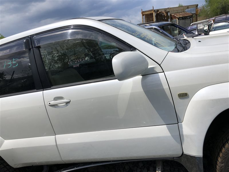 Дверь Toyota Land Cruiser Prado VZJ120 GRJ120 GRJ120W GRJ121 GRJ121W GRJ125 GRJ125W KDJ120 KDJ120W KDJ121 KDJ121W KDJ125 KDJ125W KZJ120 (б/у)