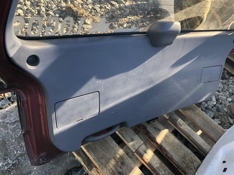 Обшивка двери багажника Toyota Ipsum CXM10 3CTE 2000 (б/у)