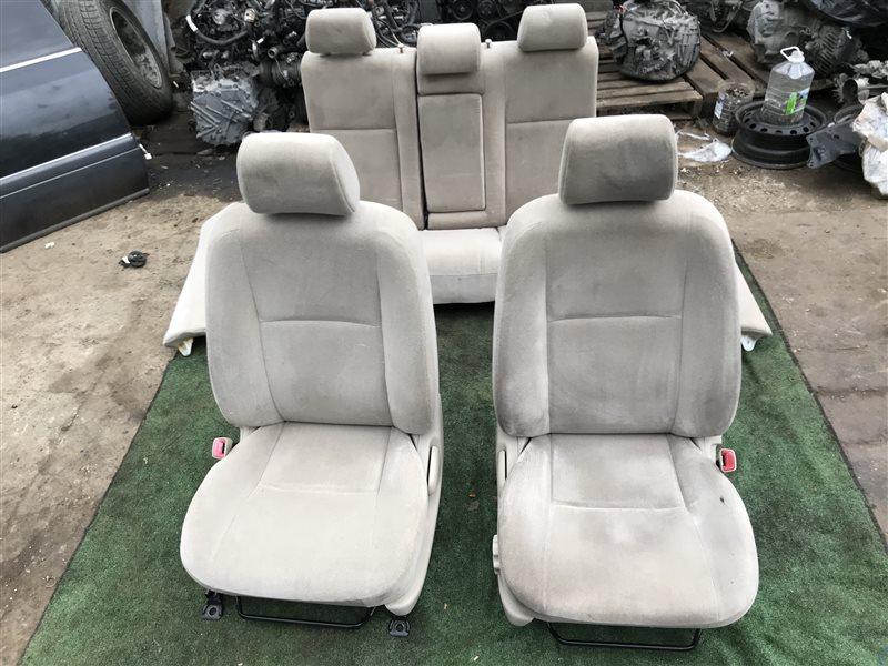 Сидение Toyota Corolla CDE120 CE120 CE121 NDE120 NZE120 NZE121 NZE124 ZRE120 ZZE120 ZZE120L ZZE121 ZZE121L ZZE122 ZZE123 ZZE123L ZZE124  (б/у)