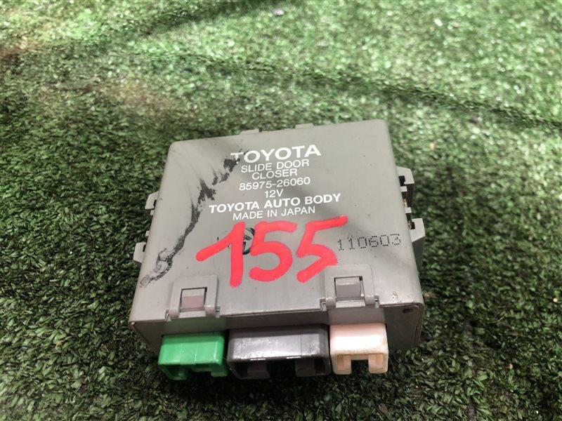 Блок управления сдвижой двери Toyota Grand Hiace KCH10 (б/у)