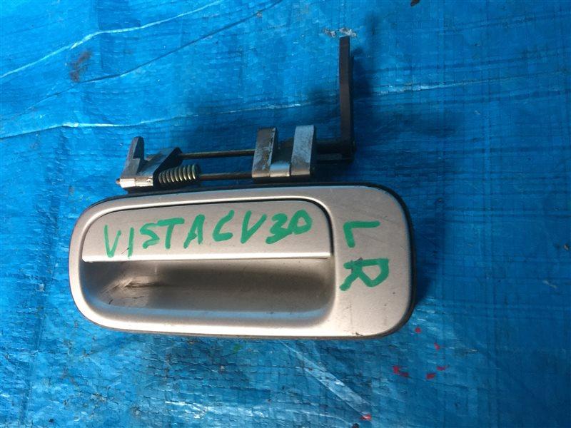 Ручка двери внешняя Toyota Vista CV30 задняя левая (б/у)