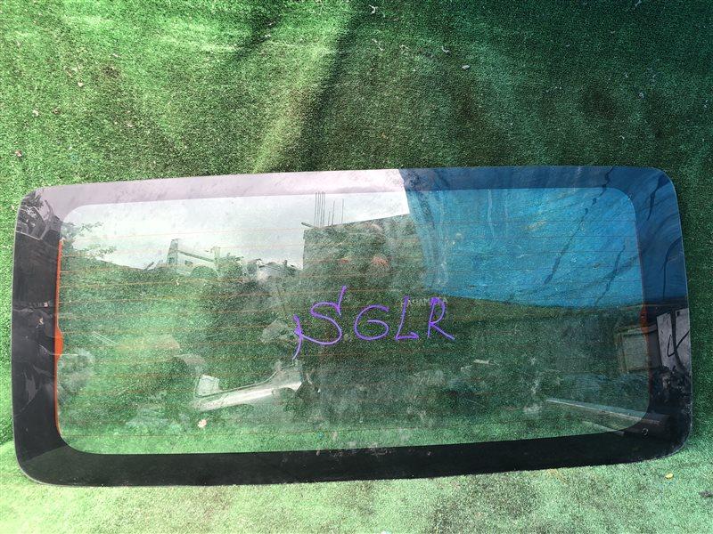 Стекло двери багажника Mazda Bongo Friendee SG5W заднее (б/у)