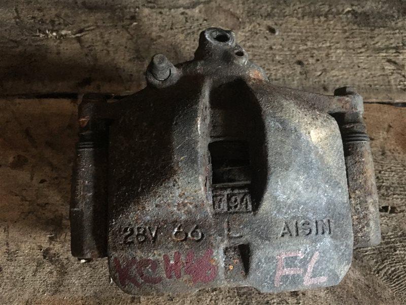 Суппорт Toyota Regius KZH106 передний левый (б/у)