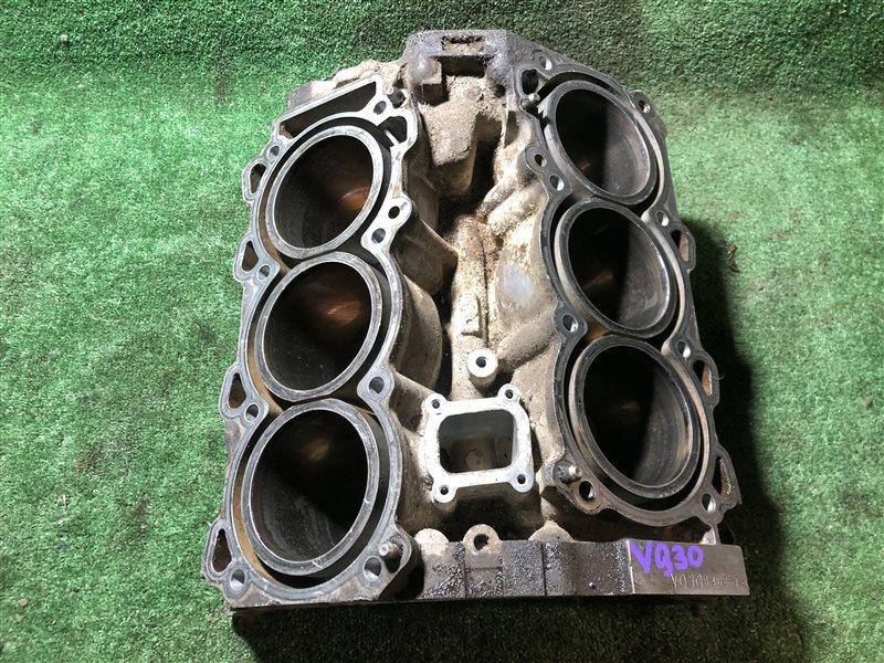 Блок цилиндров Nissan Cedric/ Gloria HY33 VQ30DE (б/у)