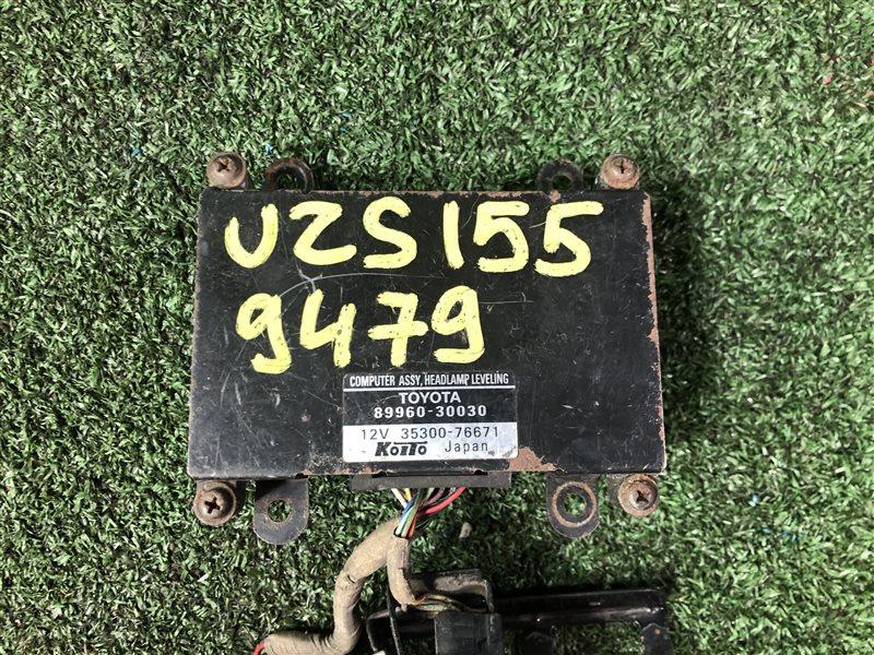 Блок управления корректором фар Toyota Crown Majesta UZS151 (б/у)