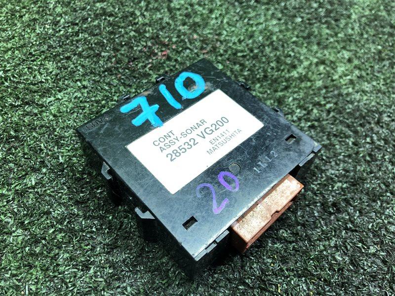 Блок управления парктроником Nissan Elgrand ALE50 (б/у)