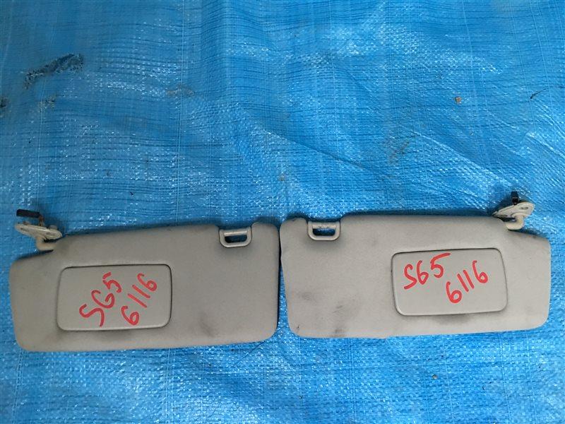 Козырьки солнцезащитные Subaru Forester SG5 B20B (б/у)