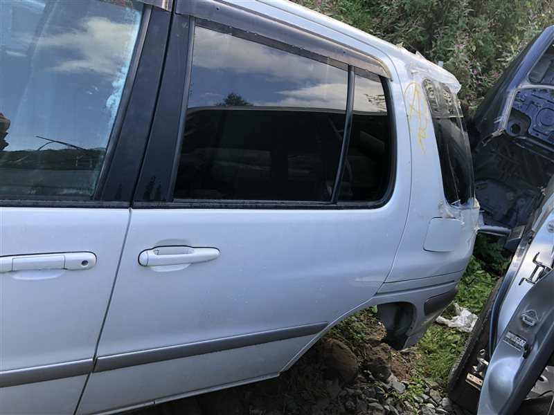 Дверь Toyota Raum EXZ10 5EFE 2000 задняя левая (б/у)